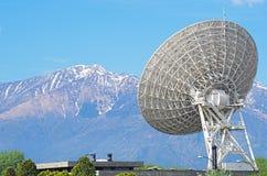 Large satellite dish Stock Photography
