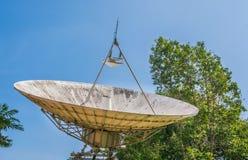 large sattelite dish Stock Image