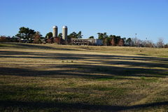 Large scale farm and agriculture center Stock Photos