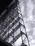 Large Scale Scaffolding Stock Photography