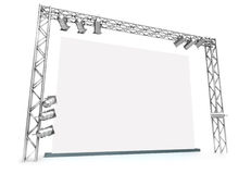 Large screen Royalty Free Stock Photos