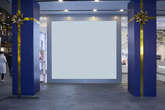 A LARGE SCREEN Stock Photography