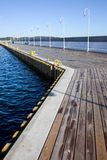 Large Sea Pier Royalty Free Stock Photos