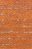 Large section of colorful vintage brick wall Royalty Free Stock Images