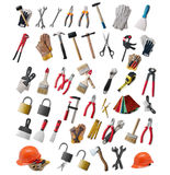 Large Selection Of Hand Tools Stock Photo
