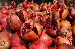 Pomegranates, India Stock Photo