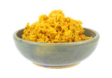Large serving of spiced rice Royalty Free Stock Photos