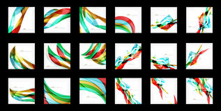 Large set of abstract backgrounds Stock Photography