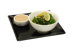 Salad hiyashi wakame Stock Photo