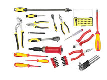 Large set of tools Stock Images