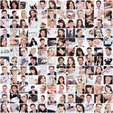 Large set of various business images Stock Photos