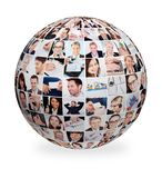Large set of various business images Stock Images