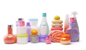 Large set of various cosmetics Stock Photography