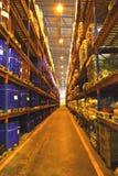 large shelves warehouse στοκ φωτογραφίες με δικαίωμα ελεύθερης χρήσης