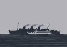 Large ship Stock Photo