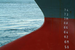 Large Ship bow Royalty Free Stock Photography