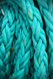 Large ship cable background Stock Photos