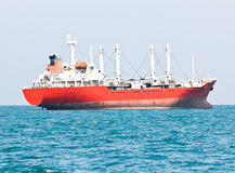 Large ship on sea Royalty Free Stock Images
