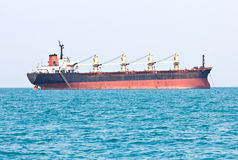 Large ship on sea Stock Photos