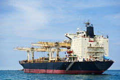 Large ship on sea Royalty Free Stock Photo