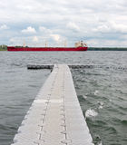 Large ship in Seaway Royalty Free Stock Images