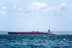 Large Shipping Barge Royalty Free Stock Photo