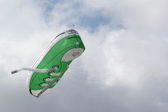 Large shoe kite. Royalty Free Stock Photos