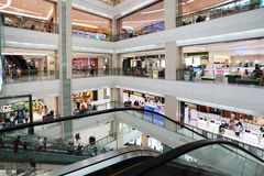 Large shopping center Royalty Free Stock Image