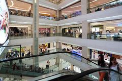 Large shopping center Royalty Free Stock Photography
