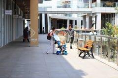 Large shopping center Stock Photo