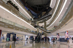 Large shopping mall Royalty Free Stock Images
