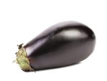 Large single eggplant. Royalty Free Stock Photos