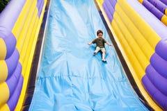 Large slide playground Stock Photo