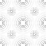 Large and Small Light and Dark Grey Gradient Circles of Multiple. Seamless pattern of large and small light and dark grey gradient circles of multiple lines on Stock Photography