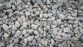 Large and small piles of limestone for use in lime kiln line . Limestone gravel background Texture stock images