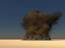 Large smoke Stock Photo