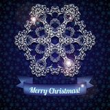 Large snowflake Stock Photography
