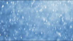 Large snowflakes falling during a winterstorm stock video footage