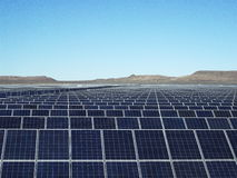 Large Solar Farm Stock Images