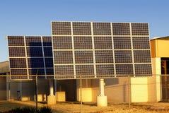 Large Solar Panels Stock Images