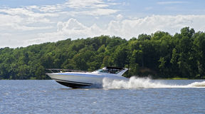 Large speed boat Royalty Free Stock Photos