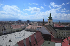 Large Square, Sibiu Royalty Free Stock Photo