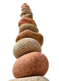 A large stack of beach stones Royalty Free Stock Image