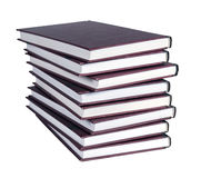 A large stack of books Royalty Free Stock Photo