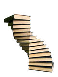 Large stack of books Stock Photo