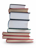 Large stack of books Stock Photos