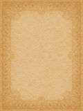 Large stained old paper  Royalty Free Stock Image