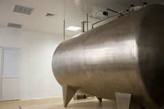 Large stainless tank Stock Image