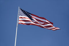 Large Stars and Stripes flag Royalty Free Stock Image