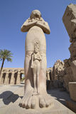 Large statue at Karnak temple Royalty Free Stock Photos